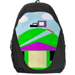 Abstract landscape  Backpack Bag