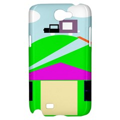 Abstract landscape  Samsung Galaxy Note 2 Hardshell Case