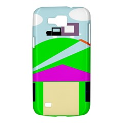 Abstract landscape  Samsung Galaxy Premier I9260 Hardshell Case