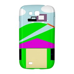 Abstract landscape  Samsung Galaxy Grand GT-I9128 Hardshell Case