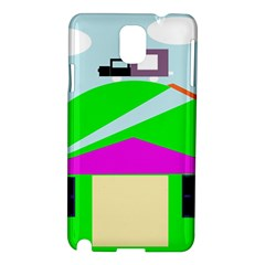 Abstract landscape  Samsung Galaxy Note 3 N9005 Hardshell Case