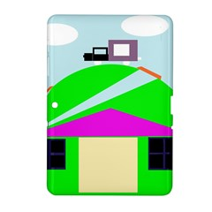 Abstract landscape  Samsung Galaxy Tab 2 (10.1 ) P5100 Hardshell Case
