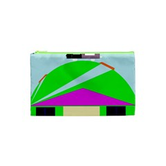 Abstract landscape  Cosmetic Bag (XS)