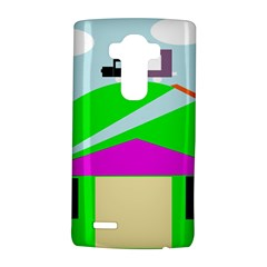 Abstract landscape  LG G4 Hardshell Case
