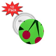 Cherries  1 75  Buttons (10 Pack)