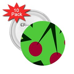Cherries  2.25  Buttons (10 pack)
