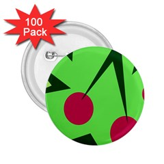 Cherries  2 25  Buttons (100 Pack)