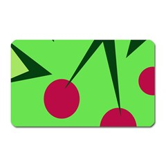 Cherries  Magnet (rectangular)