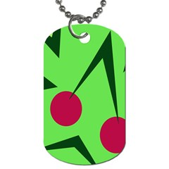 Cherries  Dog Tag (one Side)