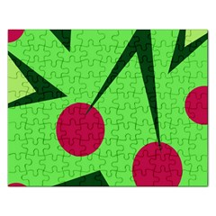 Cherries  Rectangular Jigsaw Puzzl
