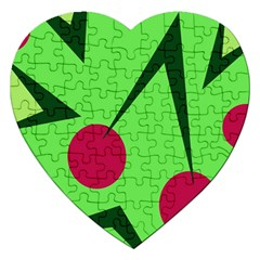 Cherries  Jigsaw Puzzle (heart)