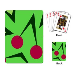 Cherries  Playing Card