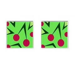 Cherries  Cufflinks (Square)