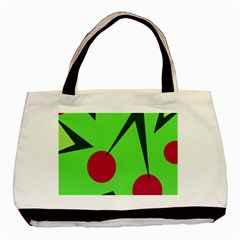 Cherries  Basic Tote Bag