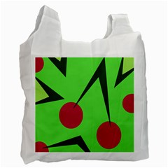 Cherries  Recycle Bag (Two Side)
