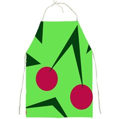 Cherries  Full Print Aprons