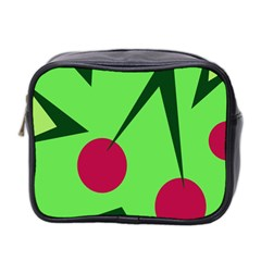 Cherries  Mini Toiletries Bag 2 Side