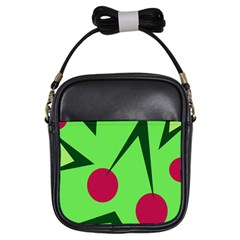 Cherries  Girls Sling Bags