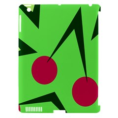 Cherries  Apple iPad 3/4 Hardshell Case (Compatible with Smart Cover)