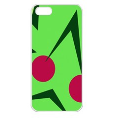 Cherries  Apple iPhone 5 Seamless Case (White)