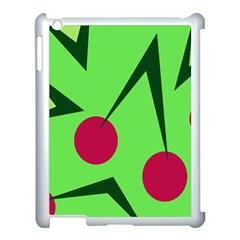 Cherries  Apple iPad 3/4 Case (White)