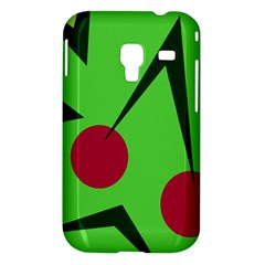 Cherries  Samsung Galaxy Ace Plus S7500 Hardshell Case