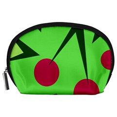 Cherries  Accessory Pouches (Large)