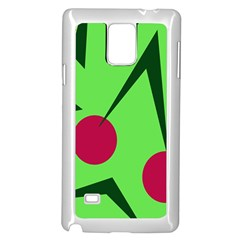 Cherries  Samsung Galaxy Note 4 Case (White)