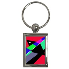 Abstract fish Key Chains (Rectangle)
