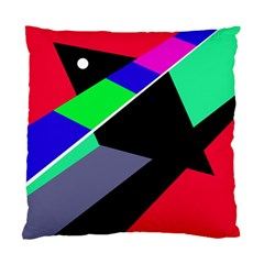 Abstract fish Standard Cushion Case (Two Sides)