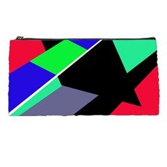 Abstract fish Pencil Cases