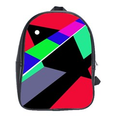 Abstract fish School Bags(Large)