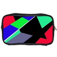 Abstract fish Toiletries Bags