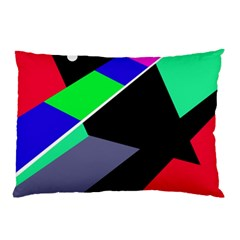 Abstract fish Pillow Case (Two Sides)