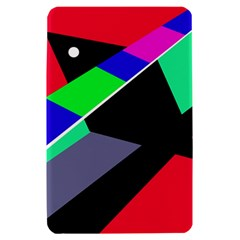 Abstract fish Kindle Fire (1st Gen) Hardshell Case