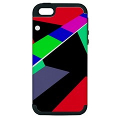 Abstract fish Apple iPhone 5 Hardshell Case (PC+Silicone)