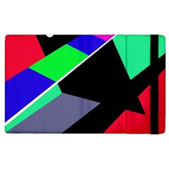 Abstract fish Apple iPad 2 Flip Case