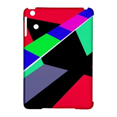 Abstract fish Apple iPad Mini Hardshell Case (Compatible with Smart Cover)