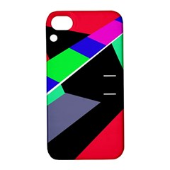 Abstract fish Apple iPhone 4/4S Hardshell Case with Stand