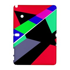 Abstract fish Samsung Galaxy Note 10.1 (P600) Hardshell Case