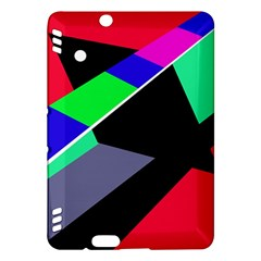Abstract fish Kindle Fire HDX Hardshell Case