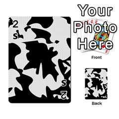 Black and white elegant design Playing Cards 54 Designs