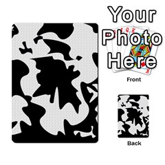 Black and white elegant design Multi-purpose Cards (Rectangle)