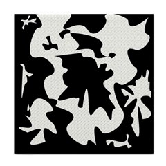 Black and white elegant design Face Towel