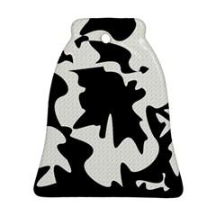 Black and white elegant design Ornament (Bell)