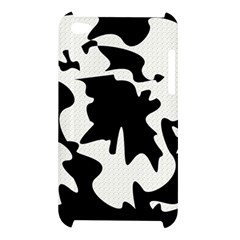 Black and white elegant design Apple iPod Touch 4