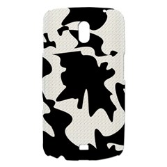 Black and white elegant design Samsung Galaxy Nexus i9250 Hardshell Case