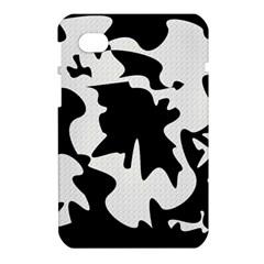 Black and white elegant design Samsung Galaxy Tab 7  P1000 Hardshell Case