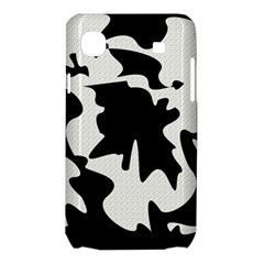Black and white elegant design Samsung Galaxy SL i9003 Hardshell Case