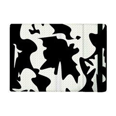 Black and white elegant design Apple iPad Mini Flip Case